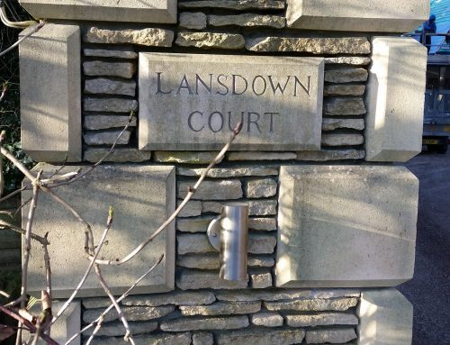 Cast stone units for Lansdown Court – Lansdown, Bath
